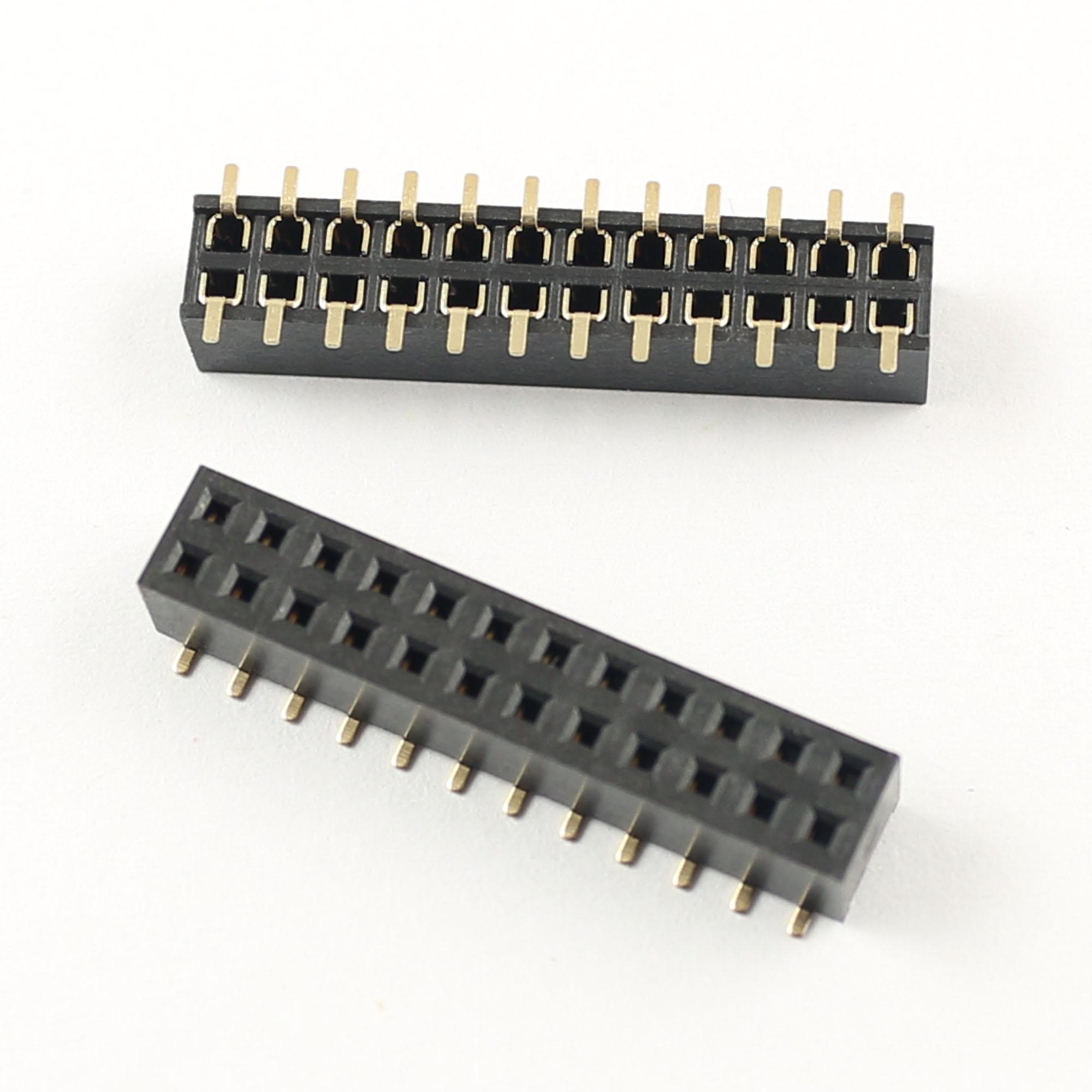 Socket//Female Header Row