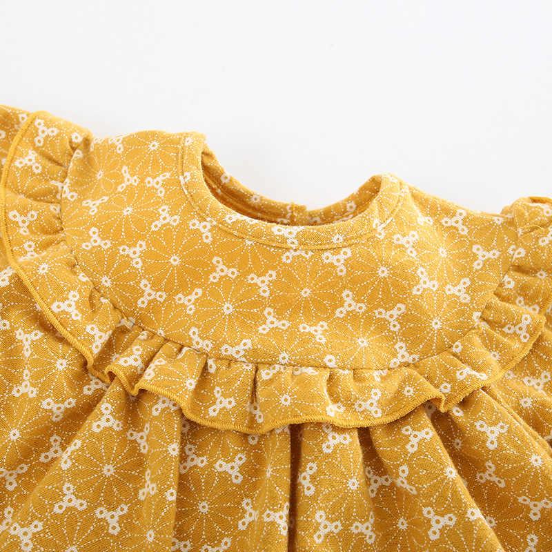 בגדי תינוקת romper ארוך שרוול תינוק onesies כותנה תינוק סרבל CHD10082