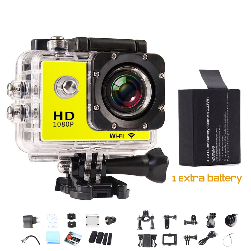 SJ7000 STYLE 1080P FULL HD 12MP sj4000 wifi go pro hero 4 Sport action Cam 1080P HD sj 4000 gopro style mini camera
