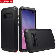 Armor Tank Aluminum Metal Shockproof Military Heavy Duty Phone Cases For Samsung Galaxy S10 S9 S8 Plus S7 Edge Note 9 Case Cover