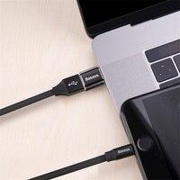 Baseus Micro USB Type C OTG Adapter Mini usb c Male to Micro usb Female otg Adapter Micro USB to USB C for date transmission