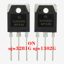 NJW1302G NJW3281G 15A 250V 200W TO3P Silicon Power Bipolar Transistors  NJW1302G  NJW3281G  HIFI audio amplifier
