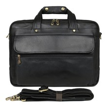 J.M.D FREE SHIP Hot Sale Genuine Leather Briefcase Laptop Bag Handbag 7146A-1