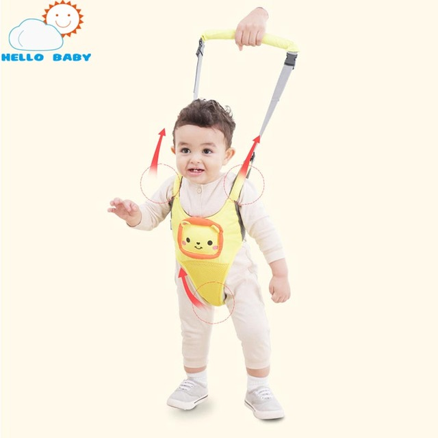 soft new 5 colors high quality comfortable Convenient Practical infant baby Basket Type Anti-lost Portable children Walk Helper