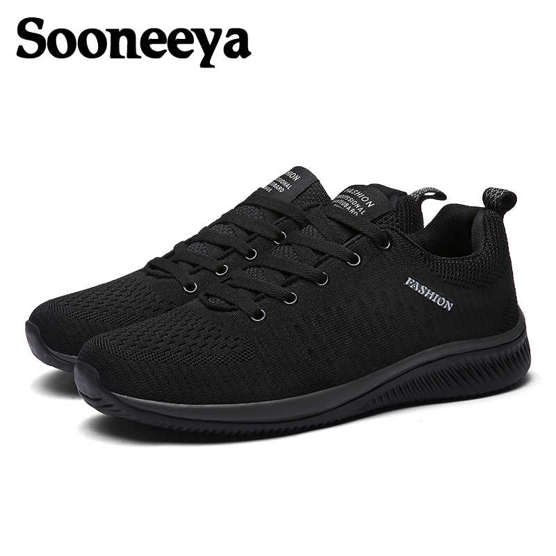 4cad78aa4fe8 Detail Feedback Questions about Sooneeya Size 39 45 Mens Sneakers Shoes  Printed Men Sock Shoes Male Lace Up Walking Shoes Flats Mesh Casual Shoes  For Man on ...