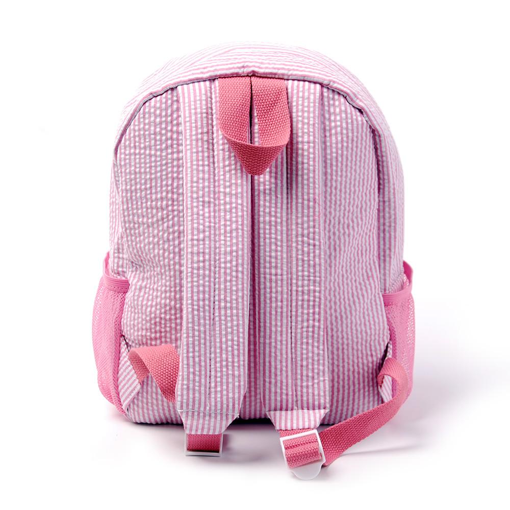 Kids seersucker backpack (2)