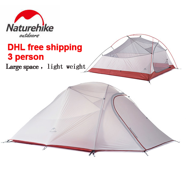 DHL freeshipping Brand NatureHike tent New 1.8kg 3 Person 20D Silicone Fabric Double-layer C&ing Tents NH Outdoor Tent  sc 1 st  AliExpress.com & Naturehike Outdoor Tent Promotion-Shop for Promotional Naturehike ...