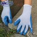 NMSAFETY Мода высокое качество сопротивление разрыву латексные перчатки по охране труда