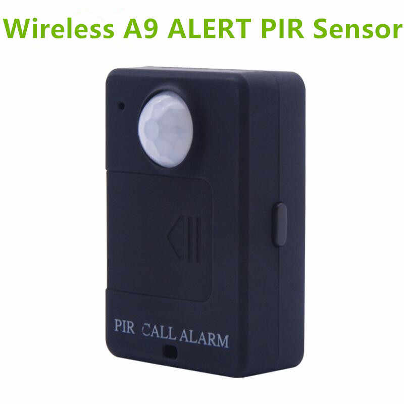 LESHP A9 Mini PIR Alarm Sensor Infrared GSM Wireless Alarm High Sensitivity Monitor Motion Detection Anti-theft EU Plug