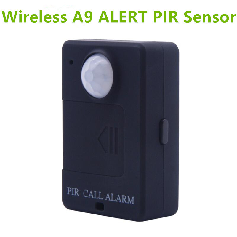 LESHP A9 Mini Alarme PIR Sensor de Alarme Infravermelho Sem Fio GSM Monitor de Alta Sensibilidade de Detecção de Movimento Anti-roubo Plugue DA UE