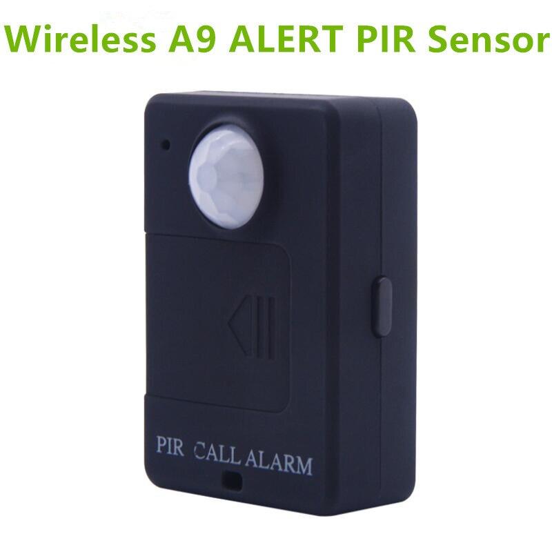 LESHP A9 Mini PIR Alarm Sensor Infrarot GSM Wireless Alarm Hohe Empfindlichkeit Monitor Motion Erkennung Anti-diebstahl EU Stecker