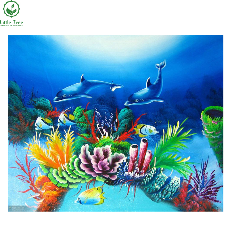 House Decoration Craft Kissing Fish Home Furnishings: Hot Sale 3d DIY Diamond Painting Living Room Diy Craft
