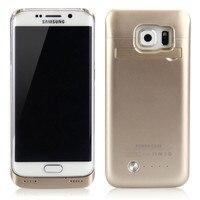 4200 mAh Harici Paketi Pil Şarj Güç Bankası Kılıf Kapak Samsung Galaxy S6 G9200 için Ücretsiz Kargo Koruyucu Kabuk Cüzdan