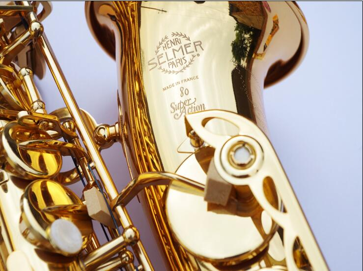 купить New France Henri Selma 80 E Flat Alto Saxophone High Quality Alto saxophone Super Professional Musical Instruments Mouthpiece по цене 16747.78 рублей