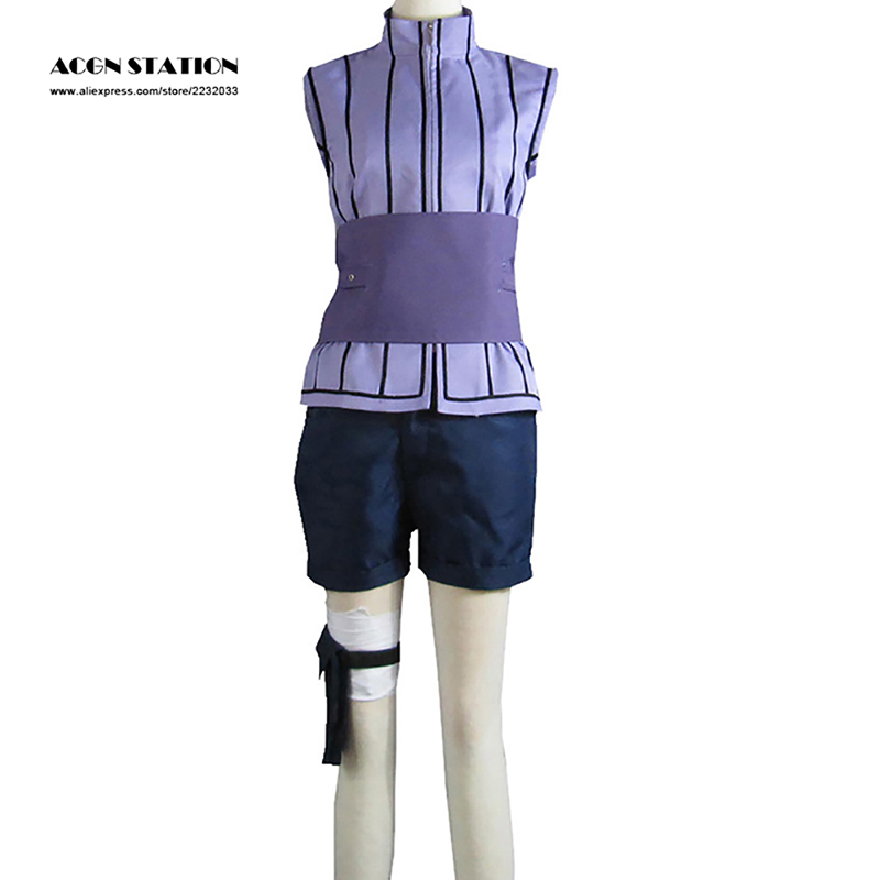 Free Shipping 2017 Hot Anime Cosplay Costume Movie The Last Naruto Hinata Hyuga Sexy -8664