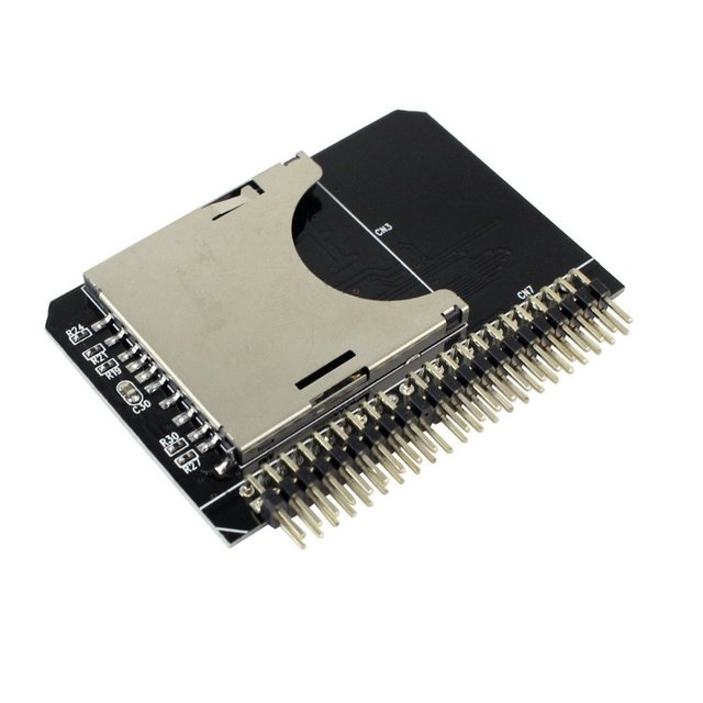 "QNINE SD SDHC SDXC ГМК Карты Памяти до 2.5 ""IDE 44 Контактный Разъем Адаптер Конвертер, SD 3.0"