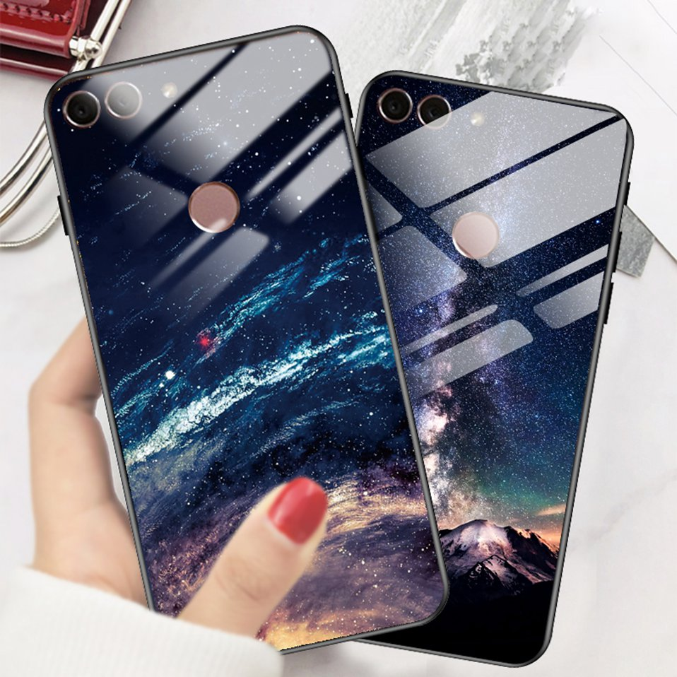 Phone Glass Case For Huawei Nova 3 2i Coque Silicone Luxury Case For Huawei P20 Pro Honor Play 7A 9 Mate 10 Lite P Smart Y6 2018 (15)