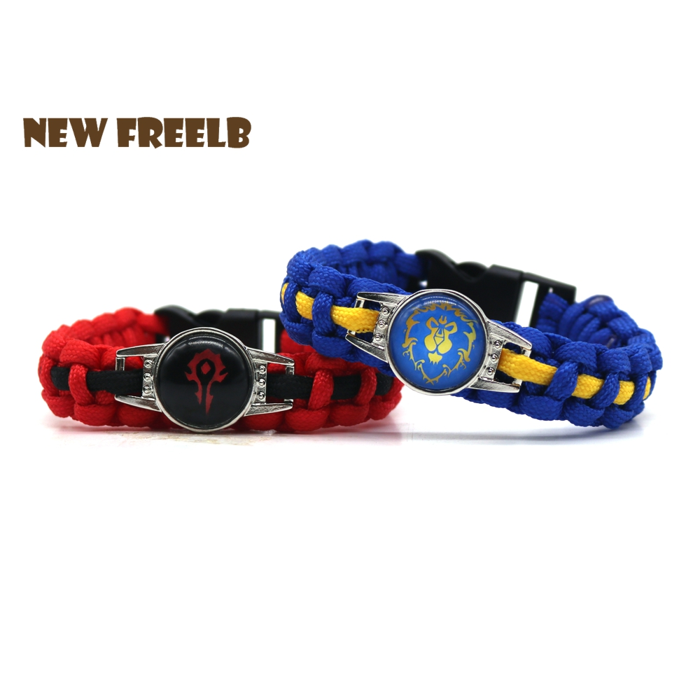 Classic Game Symbol Paracord Bracelet Jewelry For Women and Men fans