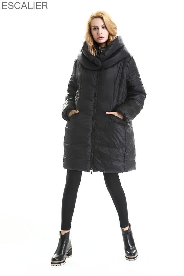 ESCALIER 2016 womens winter down jackets and coats women High