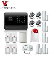 Freeship By DHL 2 4G WiFi GPRS GSM Alarm English Russian Spanish French Voice Wireless GSM