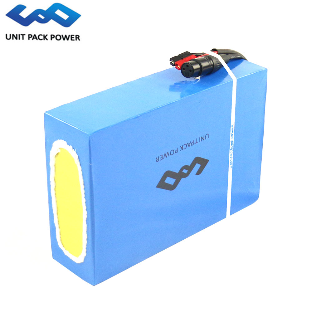US EU No Tax Electric Bicycle Battery Pack with 5A Charger 50A BMS 48V 25Ah Lithium Battery 48V for 1800W E Scooter Ebike