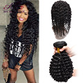360 Lace Frontal With Bundle Indian Curly 360 Lace Virgin Hair Deep Wave With Closure 360 Frontal With Bundles Black Friday Sale