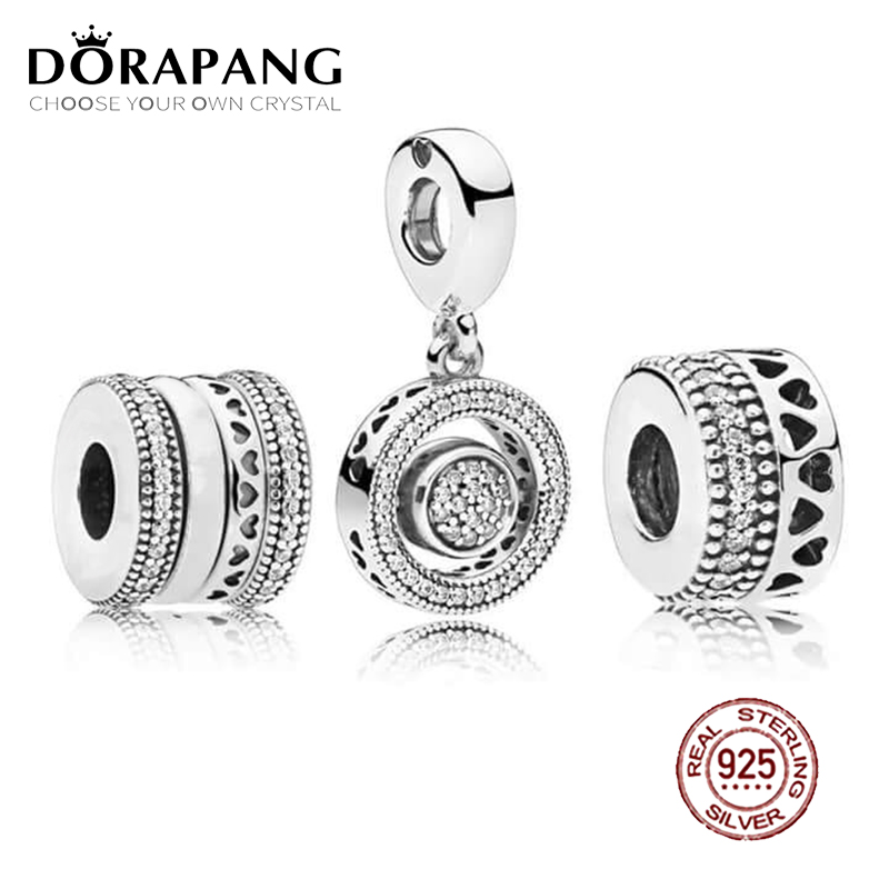 DORAPANG 100% 925 Sterling Silver Charm Beads Modern Love Signature Bead Set Fit European Women DIY Bracelet Factory Wholesale dorapang 100% 925 sterling silver snake chain necklace fit charm beads for women fashion jewelry diy bracelet factory wholesale