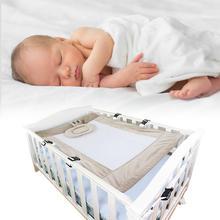 2 цвета Домашний Детский гамак прочный удобный младенец детская кровать для путешествий ребенок с сеткой Комфортабельная Колыбель