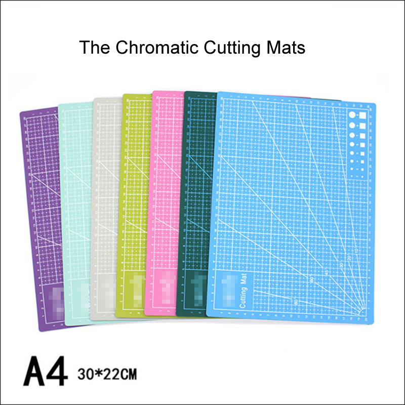 Fromthenon Cutting Craft Mat PVC Self-Healing A4 Cutting Mat Double-Sided Cutting Pad Board Office Accessories School Stationery