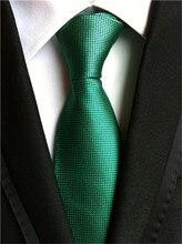 SCST Brand Boy Gravata 2017 New Corbatas 8cm Slim Men's Wedding Necktie Silk Ties For Men Tie Mens Neckties Cravate Green A004