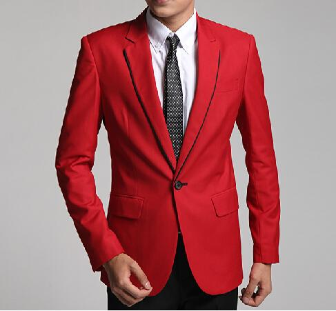 Popular Groom Suit Red-Buy Cheap Groom Suit Red lots from China ...