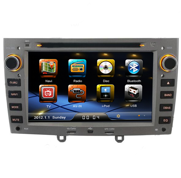 Free Shipping Car Stereo for Peugeot 408 308 DVD GPS Sat ...