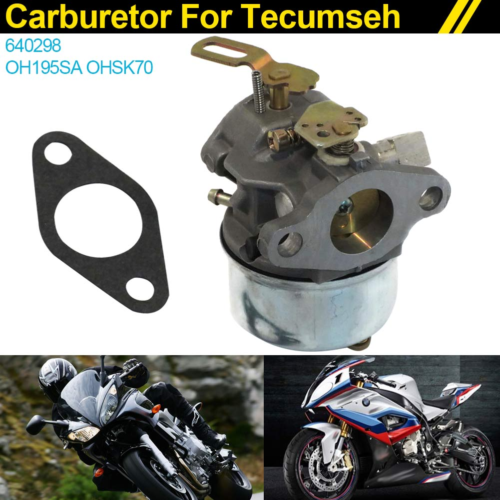 New Carburetor Carb for Tecumseh 640298 fits OH195SA 5.5 hp / OHSK70 7 hp Engine DXY88