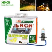 XENCN H3 2300 К 12 В 55 Вт золотые глаза супер желтый Оригинал Линия автомобилей галогенные туман свет OEM качество авто лампы Бесплатная доставка 2 шт.