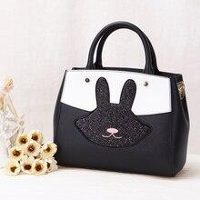 femininas nano bags 2017 new color cute rabbit SATCHEL BAG BAG all-match leisure interest