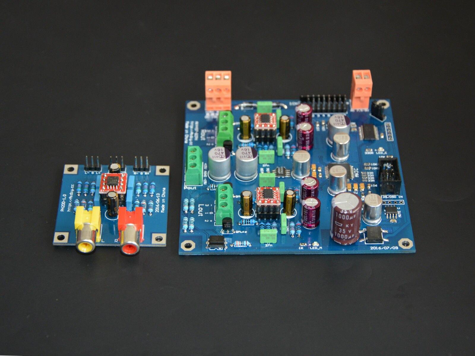 AK4497EQ carte DAC/Kit DAC norme officielle ligne équilibrée I2S/DSD décodeur