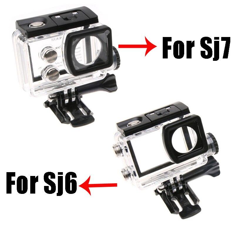 Moto Étanche de protection Etui pour D'origine SJCAM SJ6 Legned SJ7 BOÎTE De Charge pour SJCAM Action Caméra