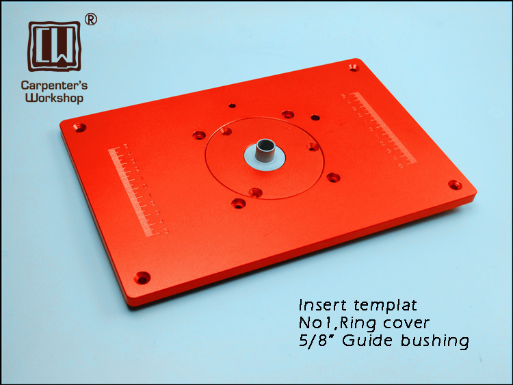 200*300mm Router Insert Template with 2 covers,5/8 Guide Bushing бленд passage ph rbg kr kx 5 30 dal 55 300mm f4 5 8 58mm