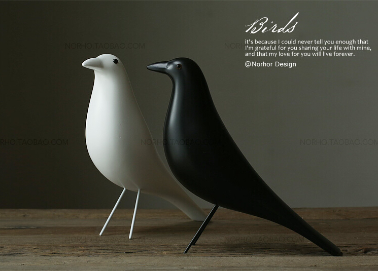 eames house bird elegant eames house bird with eames house bird eames house bird by vitra. Black Bedroom Furniture Sets. Home Design Ideas