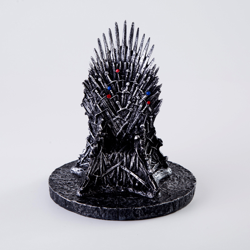 17cm The Iron Throne Game Of Thrones Jhon Snow A Song Of Ice And Fire Figures