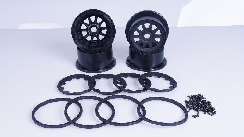 BAJA 1/5 gasoline 5B three generations wheel frame kit 85158 1 5