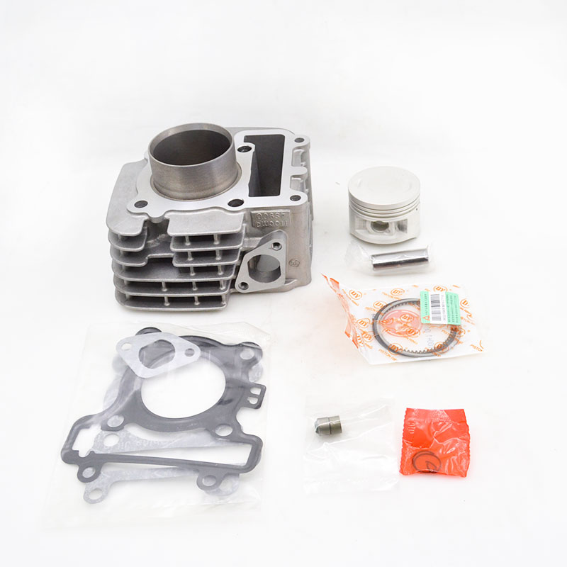 High Quality Motorcycle Cylinder Kit For Yamaha C8 LYM110-3 LYM 110 110cc Engine Spare Parts yamaha pneumatic cl 16mm feeder kw1 m3200 10x feeder for smt chip mounter pick and place machine spare parts