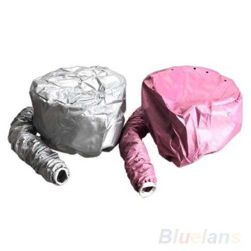 Home Portable Soft Hood Bonnet Attachment Haircare Salon Hair Dryer Hat Cap