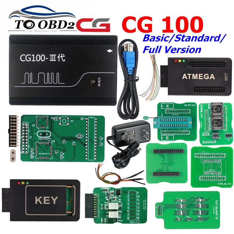 Basic Standard Full Version CG100 Airbag Reset Tool CG 100 Full Support for CPU Airbag Computer