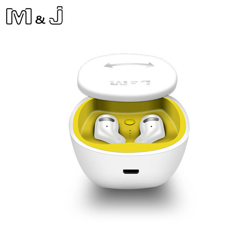 M&J TWS Bluetooth 5.0 Earphones And Earbuds With Mic For Handsfree Call 20