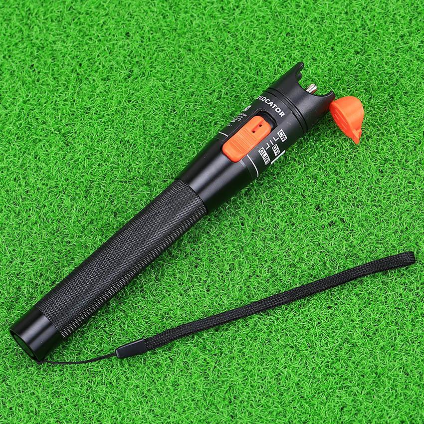 KELUSHI 30pcs Fiber Optic Tool Kit HS-30 Cleaver Optical Power Meter 10mW Visual Fault Locator Fiber Cable Tester Striping tool
