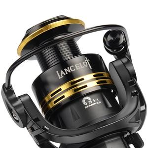 Image 4 - KastKing Lancelot Fishing Coil 8KG Max Drag Power 5.0:1/4.5:1 Gear Ratio 5+1 Ball Bearings Light Weight Spinning Fishing Reel