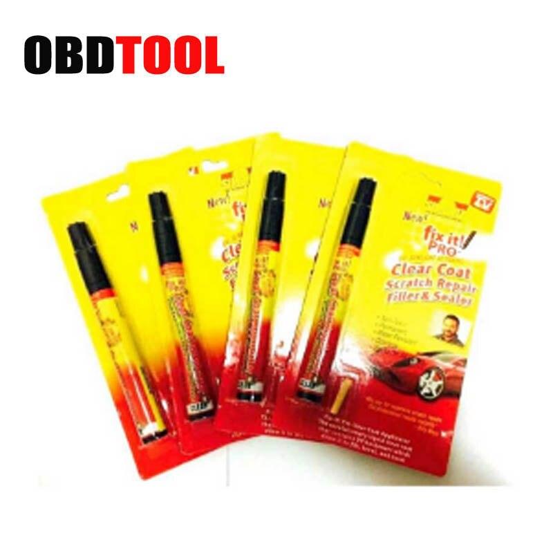 5Pcs/lot New Car Scratch Repair Pen Remover Simoniz Clear Coat Applicator Auto Painting Pens Filler Sealer Fix It Pro Clear