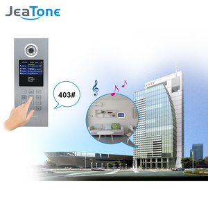 Image 4 - 7 Touch Screen WIFI IP Video Door Phone Intercom +Switch 4 Floors Building Access Control System Support Password/IC Card