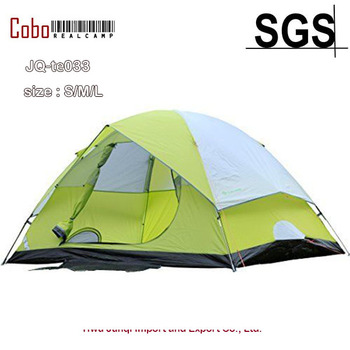Backpacking Tent 2, 4, 6, Person Family Camping Hiking Waterproof 4 Season Tent Color Green